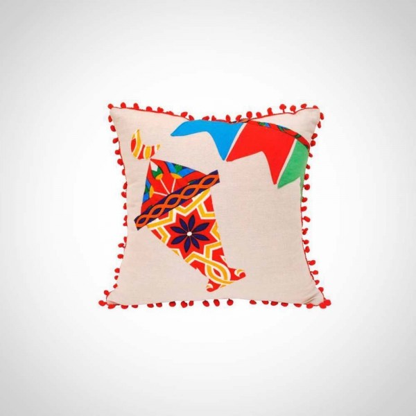 0000550 patchwork fanous lantern cushion