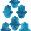 0002043 kaf coasters in turquoise price per piece