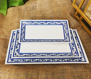 porcelain serving plates