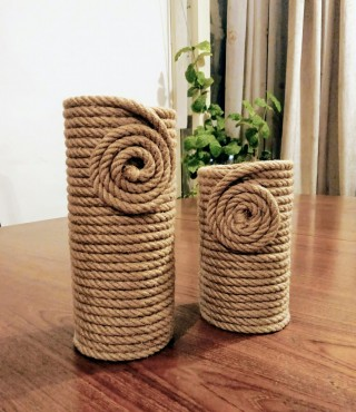 #handmade, #vase, #home accessories, #jute