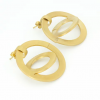 creative design earring gold plated jewelry