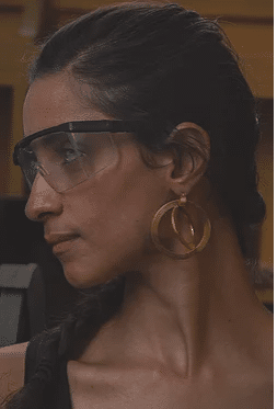 360rotation large earring 1