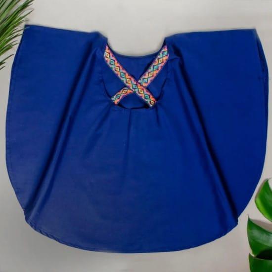 Butterfly Blue back