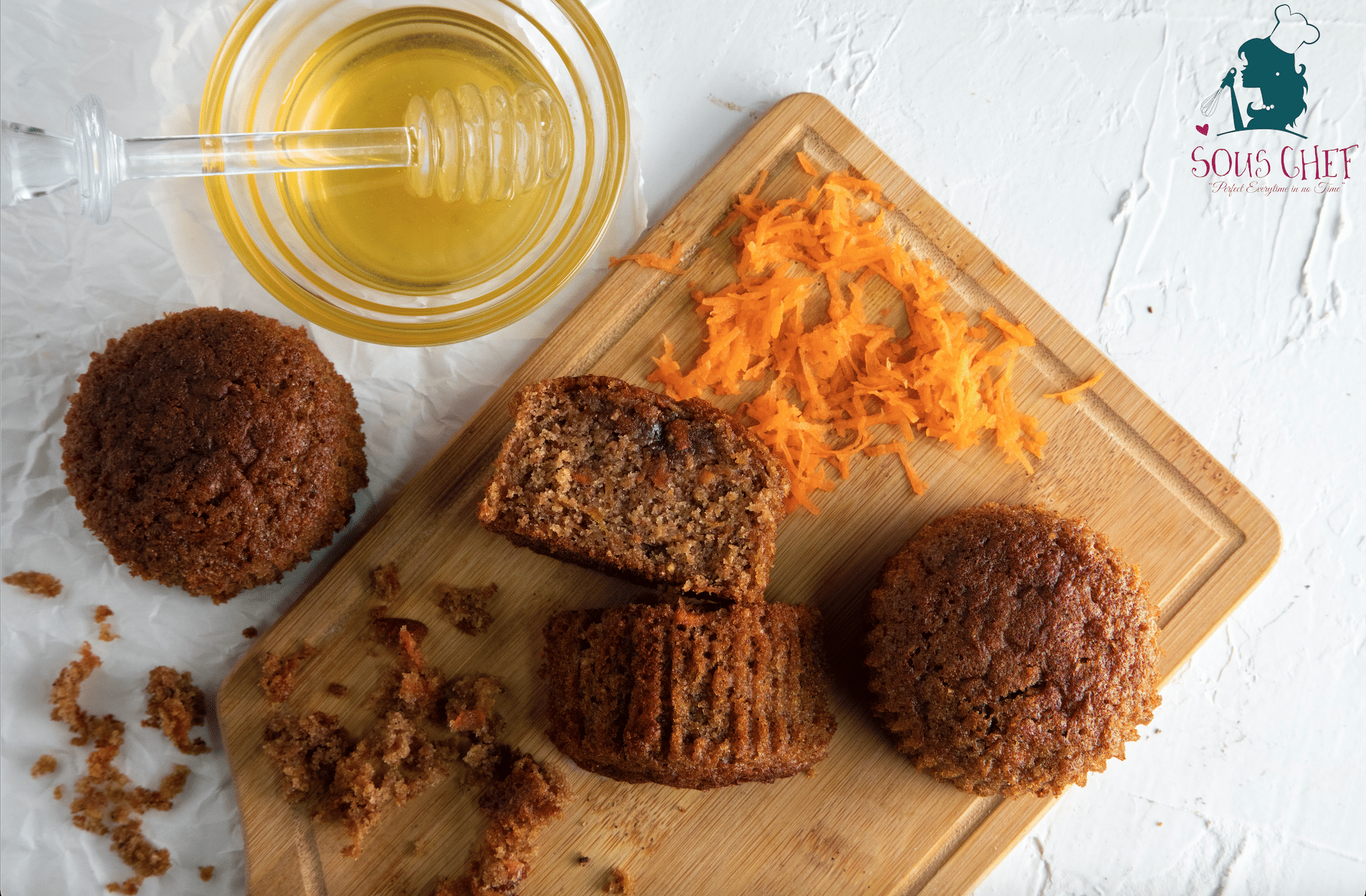 Whole-Wheat Carrot Muffin