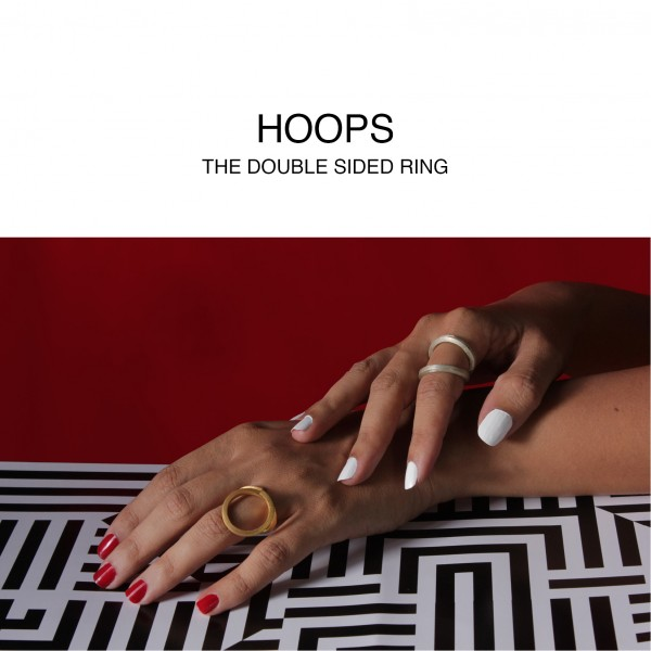 Hoops double sided Ring 2
