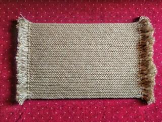 #handmade rug, #handmade mat, #jute rug, #door mat