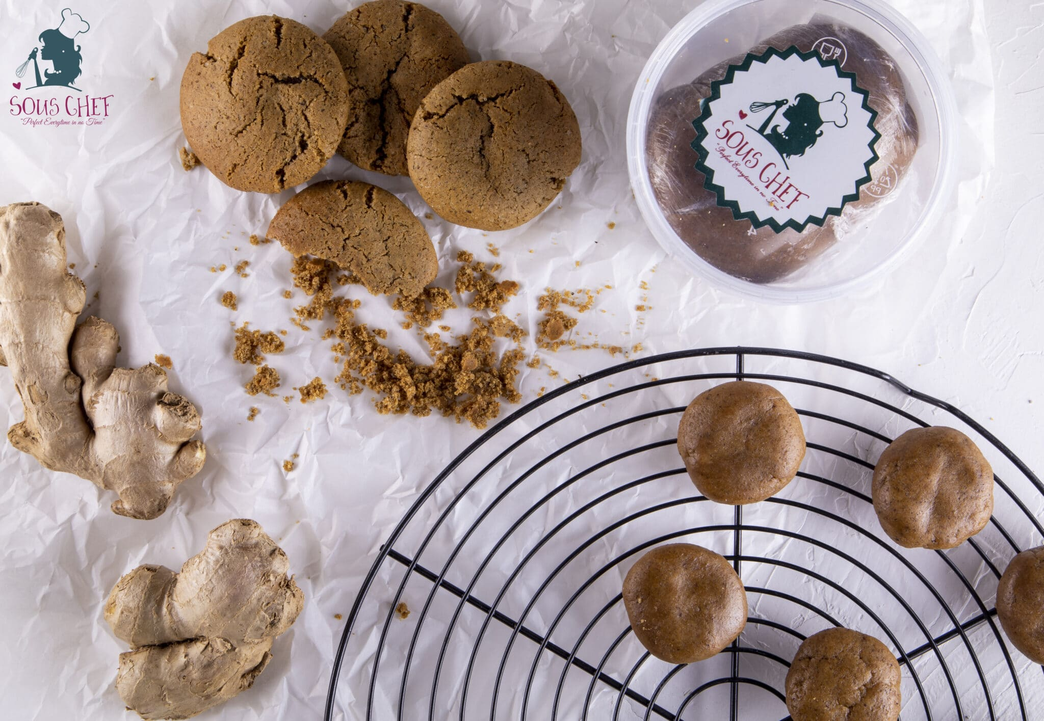 Ginger Cookie Dough