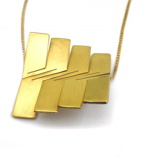 Liquify Square Necklace scaled