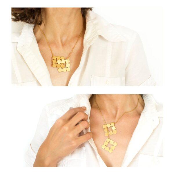Squares Necklace 3