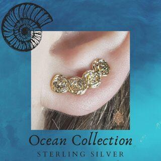 ocean earrings small