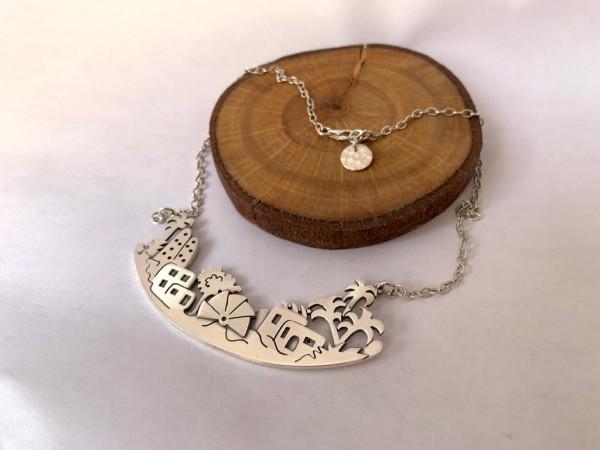 Silver Fallahy Necklace