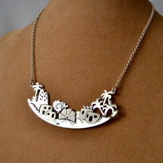 Silver Fallahy Necklace