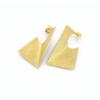 fold rectangle earring