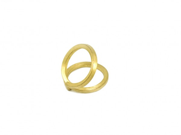 hand made ring gold plated jewllery