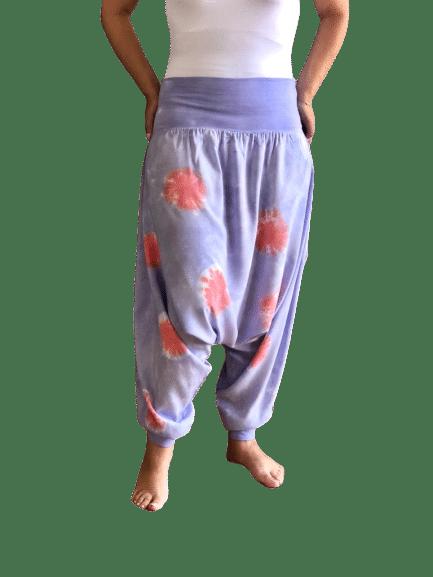 purple harem pants 2