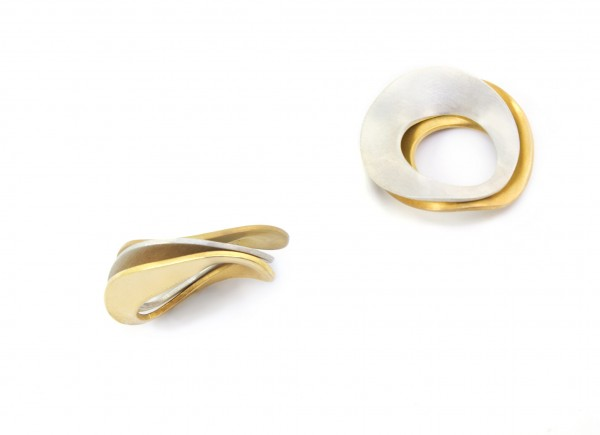 ring hand made gold plated silver plated design acceccories