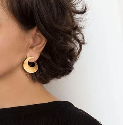 earring design brass gold plated jewelry accessories